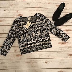 American Rag Crop Top Sweater